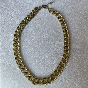 Topshop Chunky Gold Chain Necklace